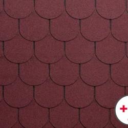 ONDULİNE BARDOLINE Shingle (Şıngıl) Çatı Kaplama Malzemesi ( Kırmızı )