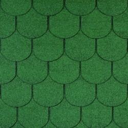 ONDULİNE BARDOLINE Shingle (Şıngıl) Çatı Kaplama Malzemesi ( Yeşil )