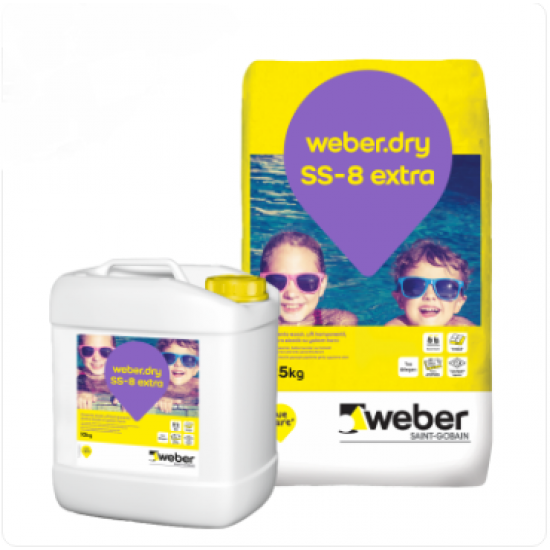 Weber dry SS-8  Extra