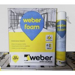 Köpük Weber Foam 750 ML / 600 GR (1 koli 16 adet)