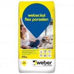Weber kol flex porselen yapıştırıcı